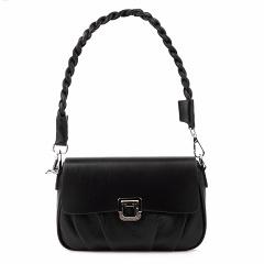 """5550 black, женская замшевая сумка """"Кросс-боди"""" Barcelo Biagi"""