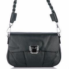 "5550 dark green, женская кожаная сумка ""Кросс-боди"" Barcelo Biagi"