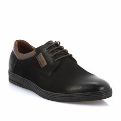 """L505-37406 (BB) black Barcelo Biagi обувь мужские кожаные полуботинки """"комфорт"""""""