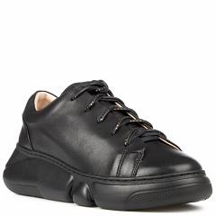 20203-1-3 black, женские кожаные кроссовки, Barcelo Biagi