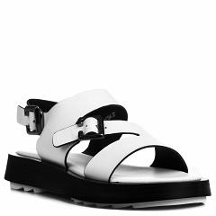 D202-2-C134 white, женские кожаные сандалии, Barcelo Biagi